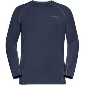 VAUDE Signpost II - Camiseta de manga larga Hombre - azul
